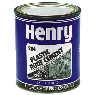 Henry 30 Oz. Plastic Roof Cement and Patching Sealant