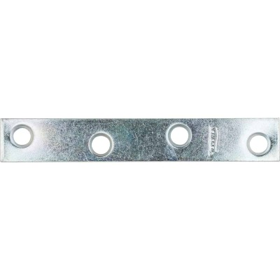 National Catalog 118 4 In. x 5/8 In. Zinc Steel Mending Brace