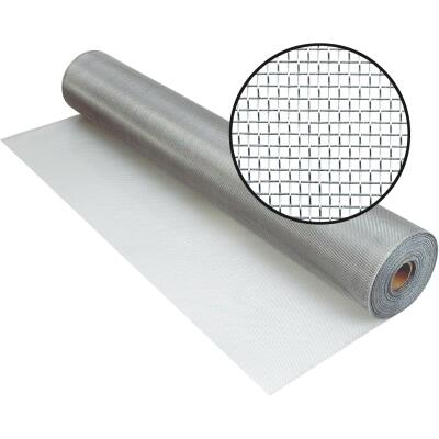 Phifer 30 In. x 100 Ft. Brite Aluminum Screen