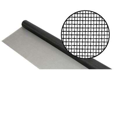 Phifer 24 In. x 100 Ft. Charcoal Fiberglass Mesh Screen Cloth