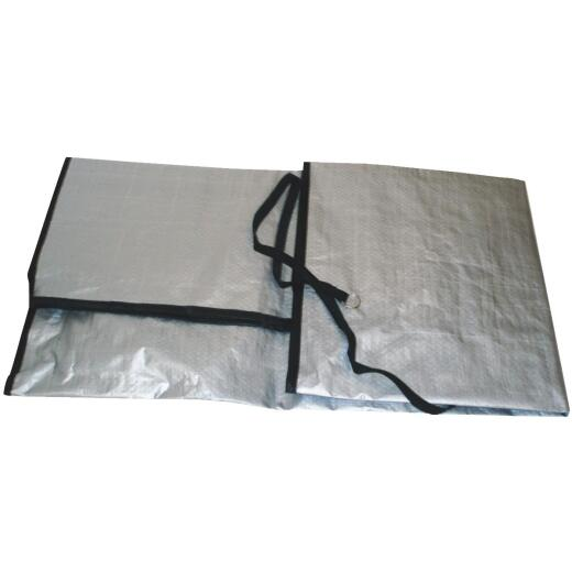 """Do it 34"""" x 30"""" 9 mil Round Air Conditioner Cover"""