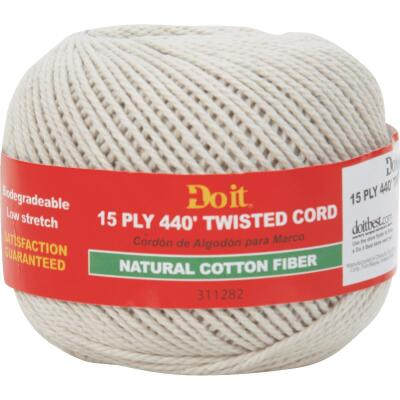 Do it #15 x 440 Ft. Natural Twisted Cotton Cord