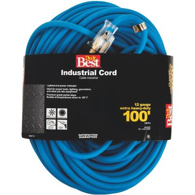 Do it Best 100 Ft. 12/3 Industrial Outdoor Extension Cord