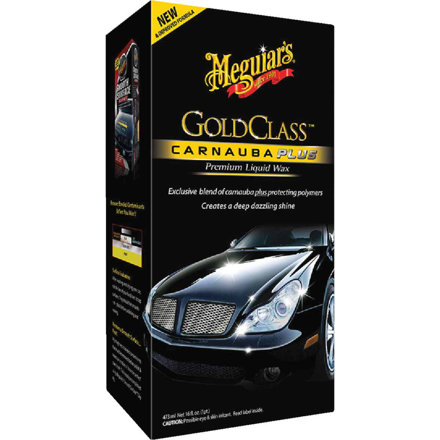 Meguiars Gold Class 16 Oz. Liquid Car Wax Image 1