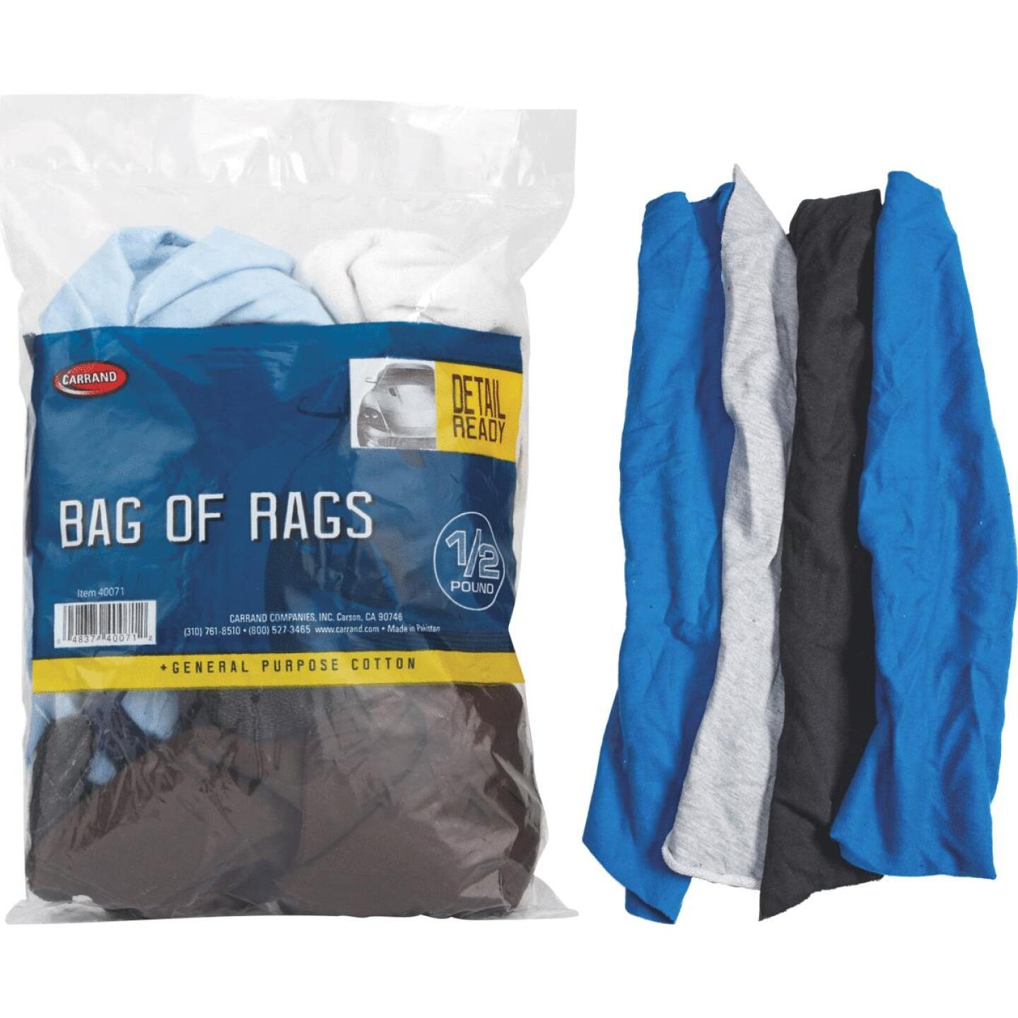 Carrand 1/2 Lb. Cleaning Rag Image 1