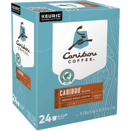 Keurig Caribou Coffee Blend K-Cup (24-Pack)