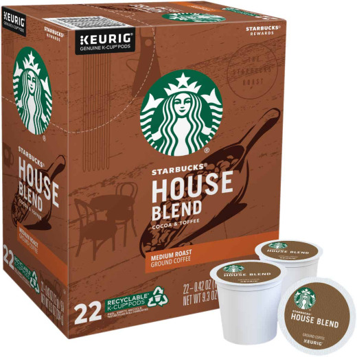 Keurig Starbucks House Blend K-Cup (22-Pack)