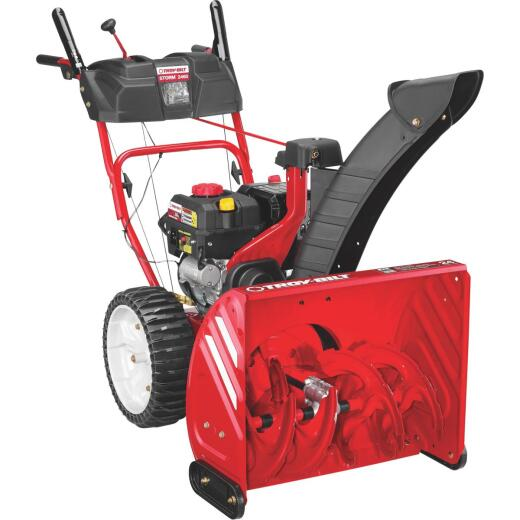 Troy-Bilt Storm 24 In. 208cc 2-Stage Gas Snow Blower