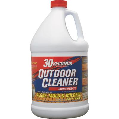 30 seconds Outdoor Cleaner 1 Gal. Concentrate Algae, Mold & Mildew Stain Remover