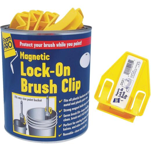 FoamPro Magnetic Lock-On Brush Clip